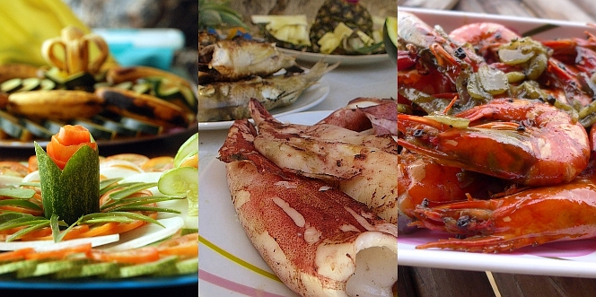 The Food We Serve - Island Hopping Northern Hope Tours El Nido, Palawan, Philippines