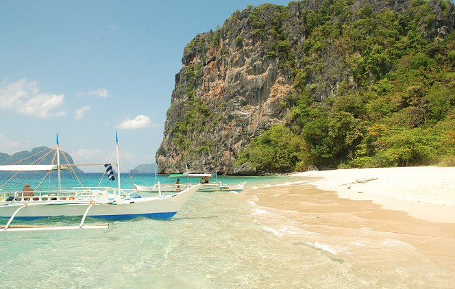 Island Hopping Tour C - Helicopter Island - Northern Hope Tours El Nido, Palawan, Philippines