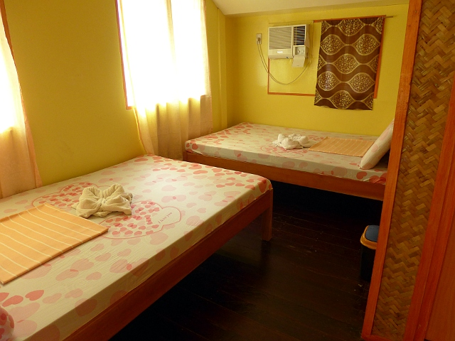 Room good for 4 persons